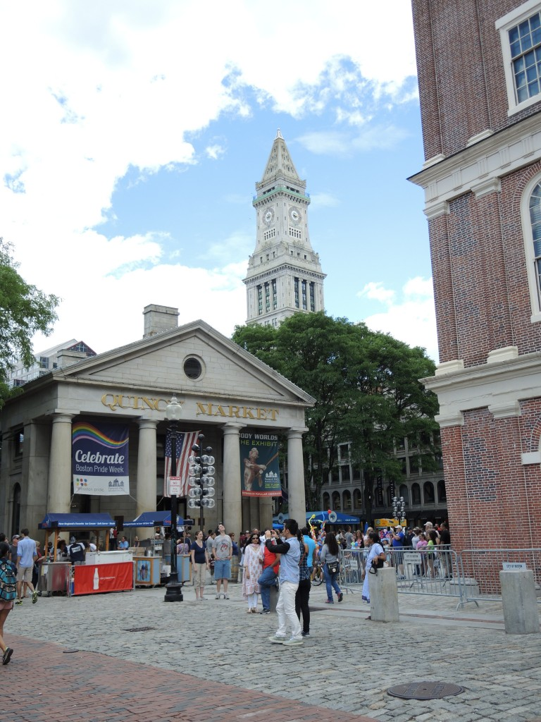 Quincy Market/ Faneuil Hall