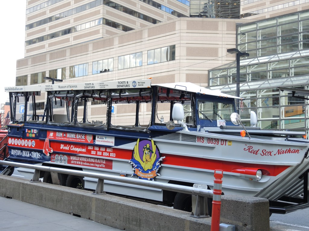 Boston Duck Tour at Prudential Center Pick Up