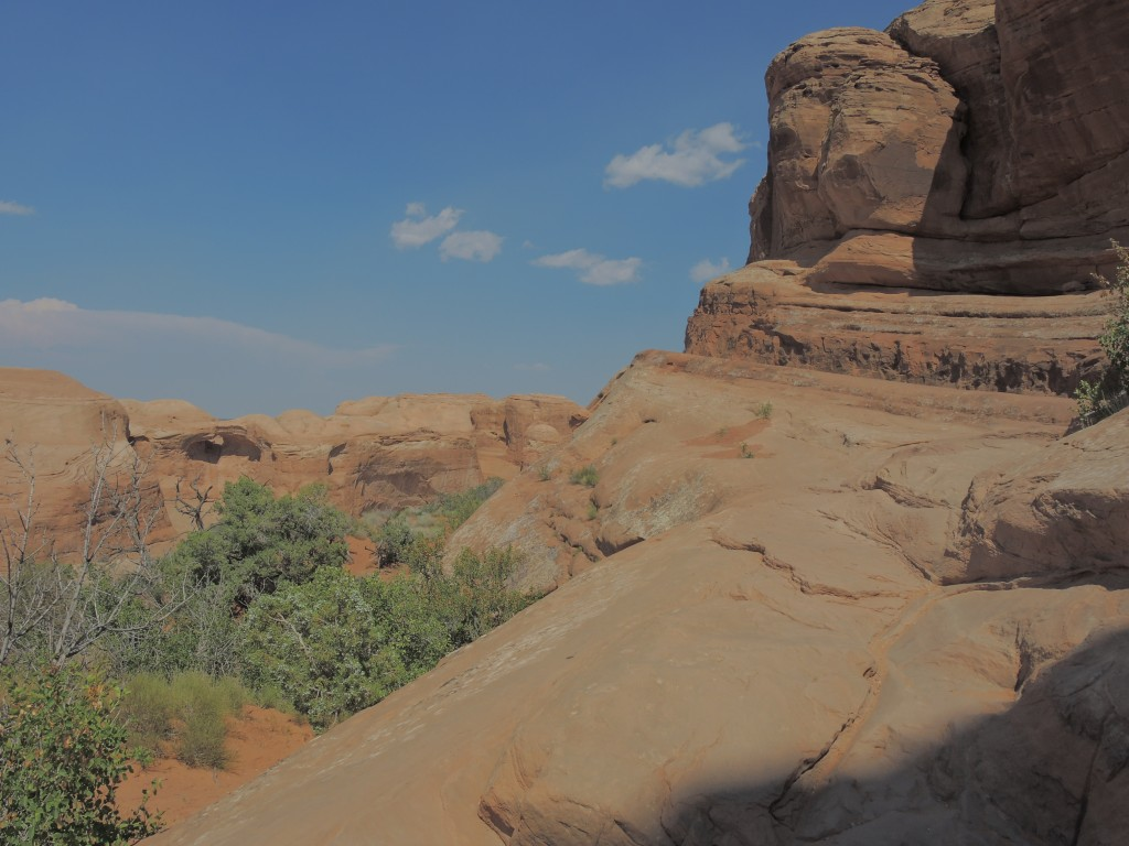 Along the Delicate Arch Trail