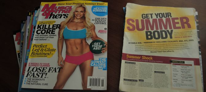 Why I Stopped Buying Fitness Magazines